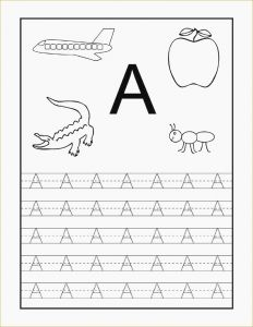 Letter Tracing Template - Free Printable Tracing Worksheets