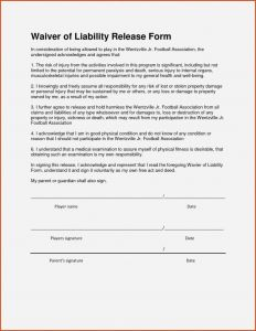 Liability Letter Template - Awesome Release Liability Template