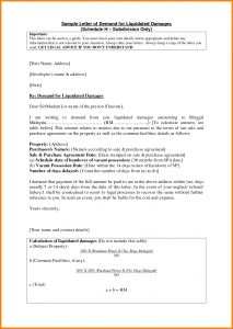 Liquidated Damages Letter Template - Letter Sample Claim Salary Email Authorization United Airlines