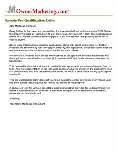 Loan Approval Letter Template - Mortgage Pre Qualification Letter Awesome Letter Qualification