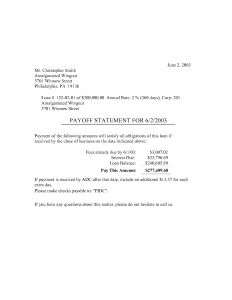 Loan Payoff Letter Template - Private Mortgage Payoff Letter Template Examples