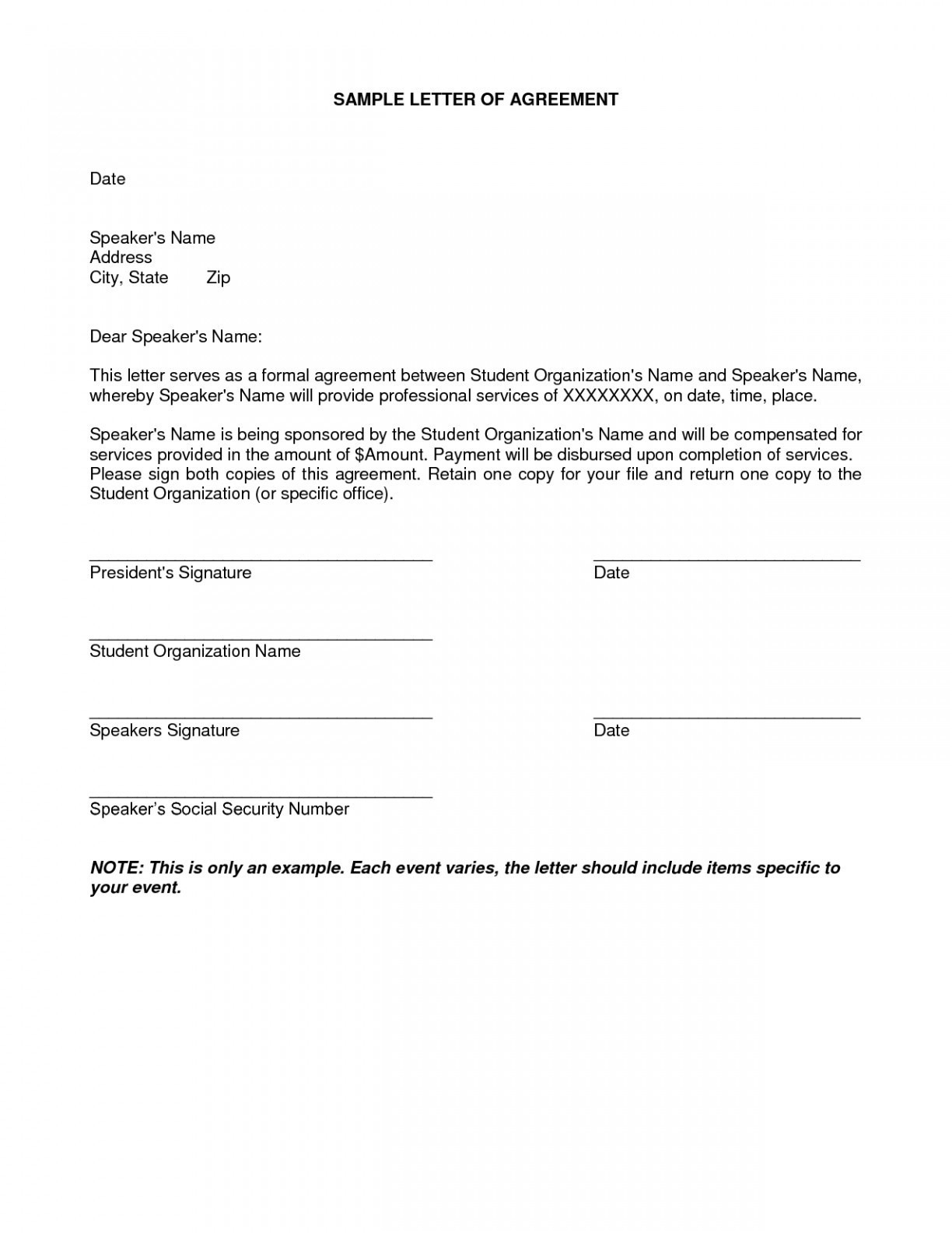 loan repayment letter template example-Sample Loan Repayment Agreement 20-h