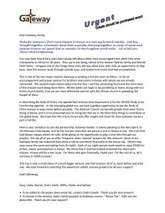 Long Term Missionary Support Letter Template - Ministry Support Letter Template Samples