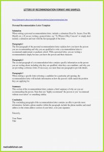 Ltc Letter Of Recommendation Template - 30 Luxury How to Close A Letter Re Mendation