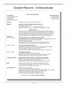 Mccombs Cover Letter Template - Undergraduate Cover Letter Examples Best 44 Unique Undergraduate