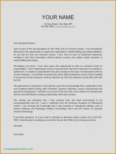 Medical Bill Settlement Letter Template - 2018 Medical Billing Job Description for Resume Vcuregistry