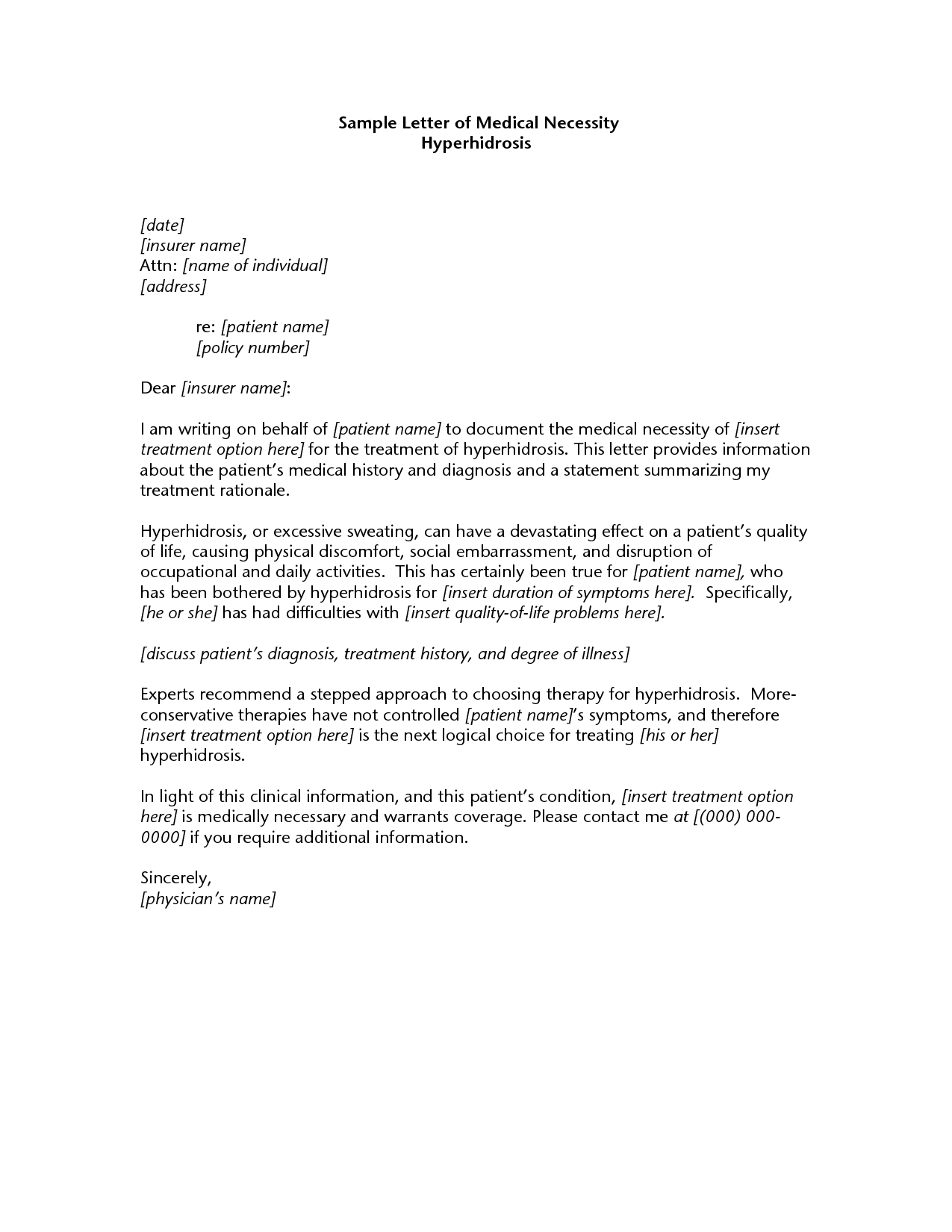 medical-necessity-appeal-letter-template-11 Sample Financial Aid Appeal Letter Template on after failing, sample template, maximum time frame, successful college, sample parent, for death,
