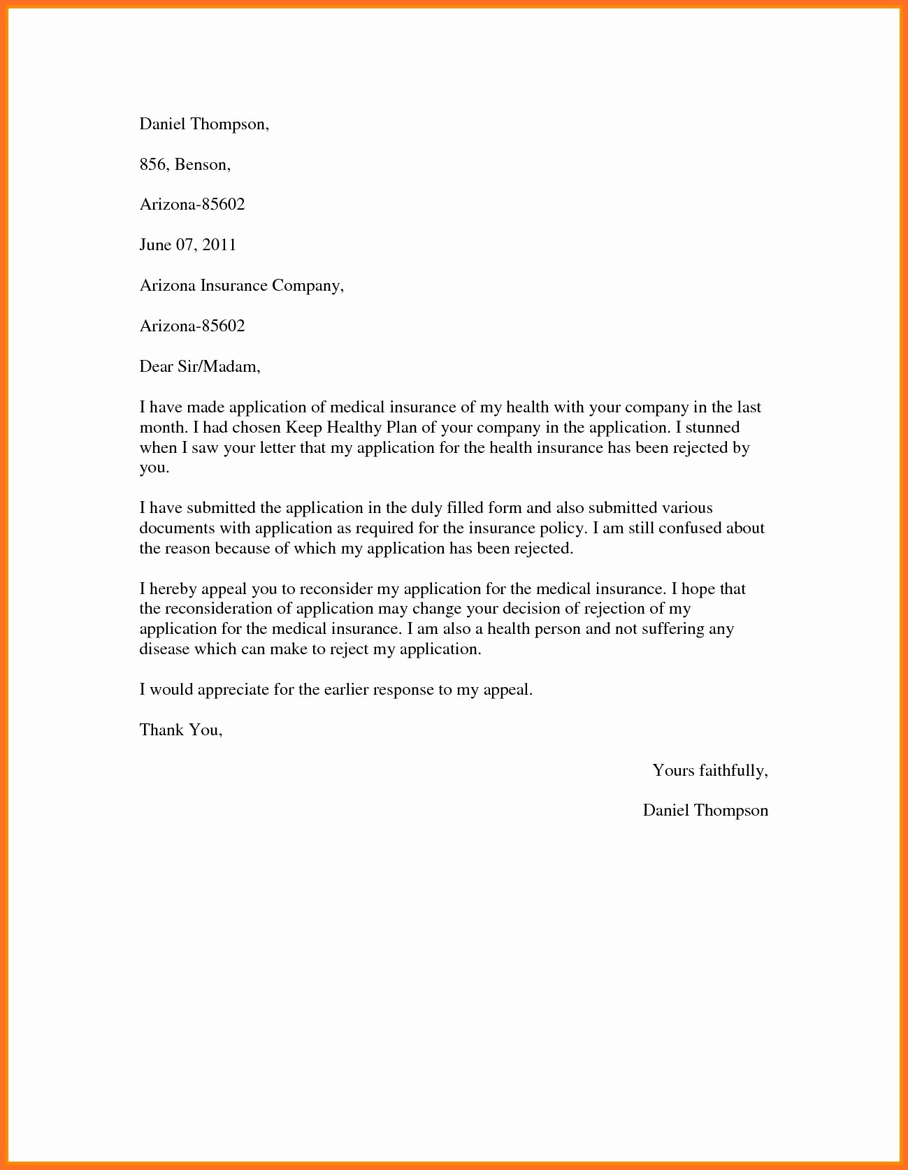 12 medical necessity appeal letter template samples