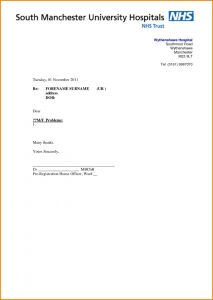Medical Referral Letter Template - Medical Referral Letter Writing