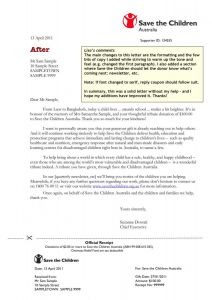 Memorial Donation Letter Template - Memorial Donation Letter Template Samples