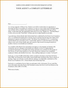 Memorial Donation Letter Template - Memorial Donation Letter Template Collection