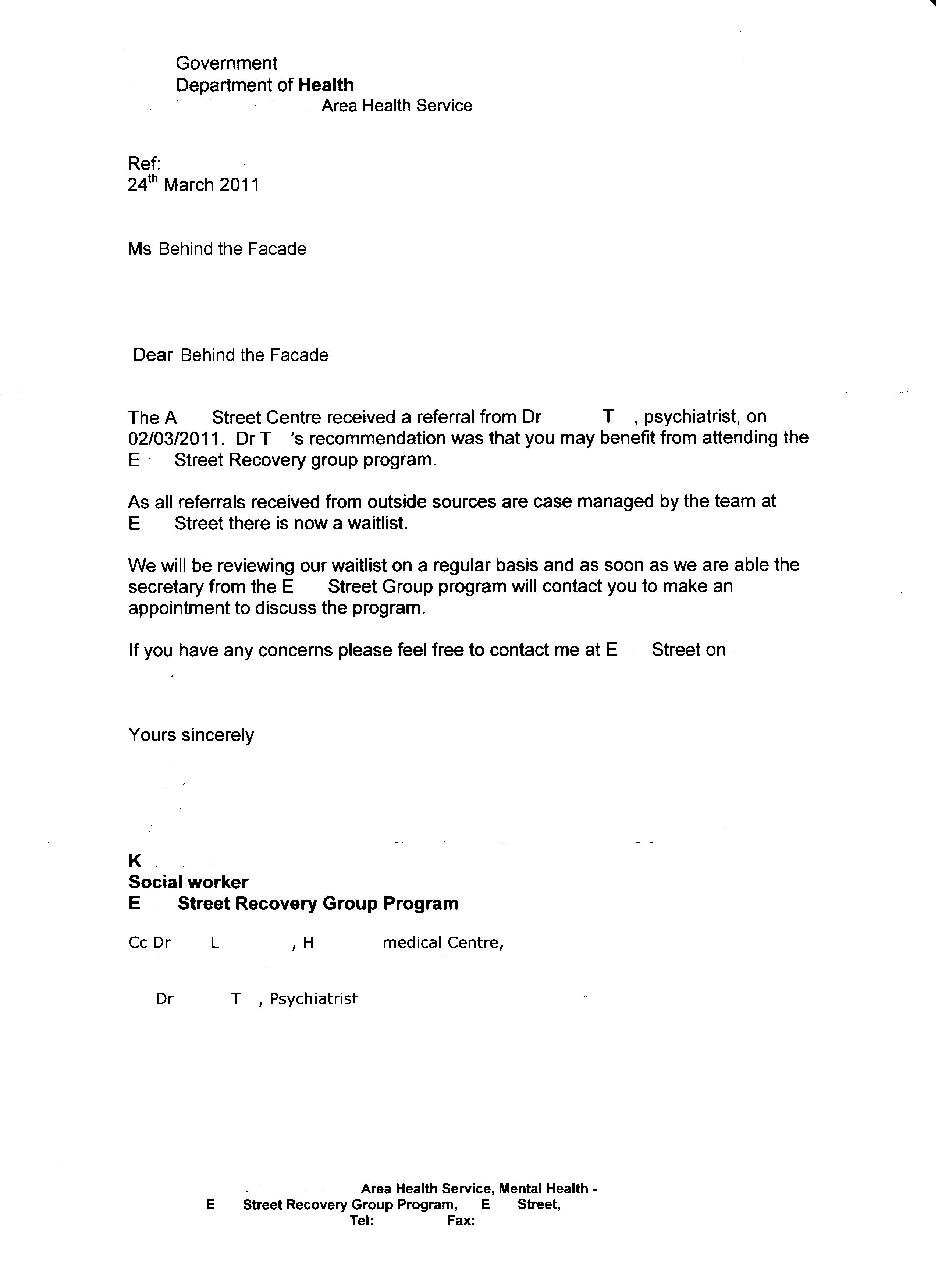 mental health referral letter template example-Not 15-e