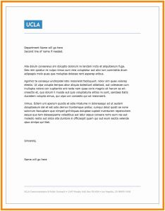 Microsoft Word Letter Of Recommendation Template - 30 Awesome Letter Re Mendation Template Word Pics