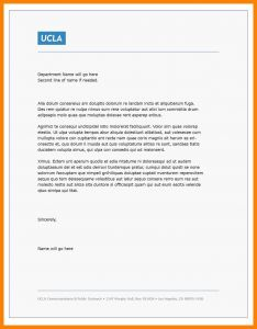 Microsoft Word Professional Letter Template - Business Letter Template Word 2018 Professional Business Letter