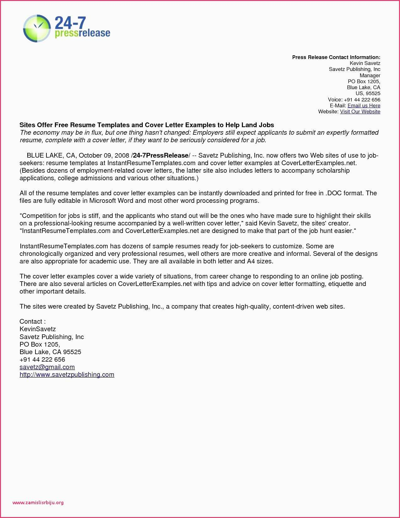 microsoft word professional letter template example-Business Letter formats Resume Logo Lovely Free Resume Examples Fresh Business Resume 0d 10-s