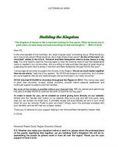 Ministry Support Letter Template - Fundraising Appeal Letters to Grab attention and Get Results by
