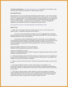 Mission Letter Template - Resume Mission Statement Examples Beautiful Resume Objective