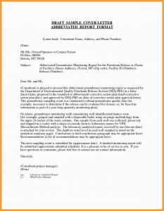 Mission Letter Template - 27 Free Resume and Cover Letter Template New