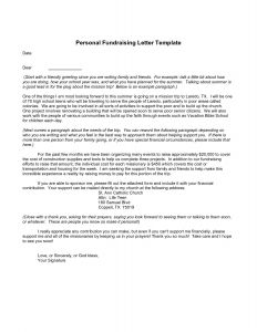 Mission Trip Fundraising Letter Template - Mission Trip Donation Letter Template 2018 How to Write A Mission