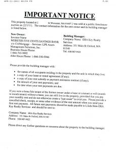 Mortgage Default Letter Template - Lease Default Letter Template Gallery