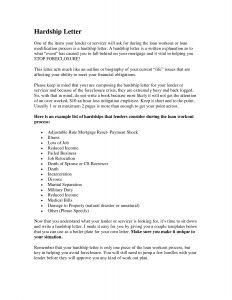Mortgage Hardship Letter Template - 401k Hardship Letter Template Samples
