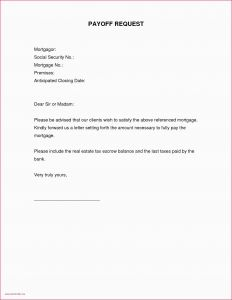 Mortgage Payoff Letter Template - Personal Loan Payoff Letter Sample Mortgage Payoff Letter Template