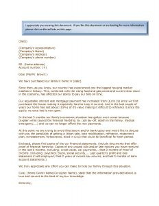 Mortgage Reinstatement Letter Template - foreclosure Letter Template Reference 39 Lovely Mortgage Hardship