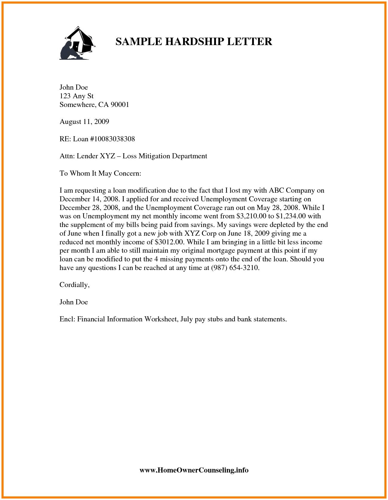11 Mortgage Reinstatement Letter Template Inspiration ...