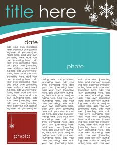 Ms Word Christmas Letter Template - 7 Free Christmas Letter Templates and Ideas