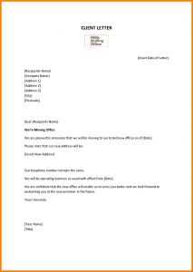 Name Change Notification Letter Template - Letter Template for Change Address Notification Fresh Example