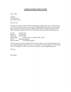 Name Change Notification Letter Template - Change Name Letter Template Collection