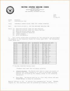Naval Letter format Template Usmc - Standard Naval Letter format Letter Re Mendation Inspirationa