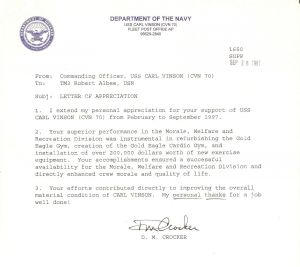 Navy Designation Letter Template - Naval Letter format Usmc Template Collection