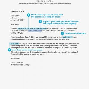New Employee Welcome Letter Sample Template - How to Write A Wel E Aboard Letter