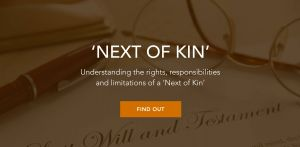 Next Of Kin Letter Template - What Exactly Does Next Of Kin Mean Arm Trustees