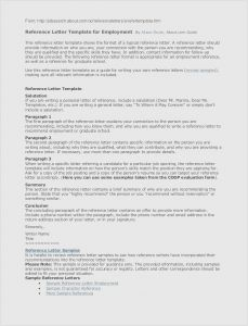 Nhs Letter Of Recommendation Template - 25 New Professional Reference Letter Example Gallery