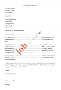 Nice Cover Letter Template - 50 Awesome Sample Cover Letters for Resume