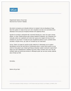 No Known Loss Letter Template - Cover Letter Template Ucla Cover Letter Template