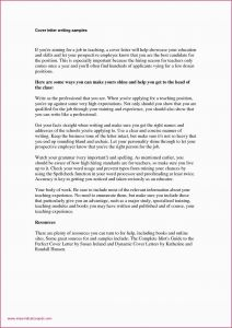 No Show Letter Template - Write French formal Letter Cover Letter Examples for Internship