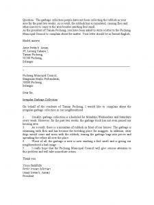 Noise Complaint Letter Template - Neighbour Plaint Letter Template Samples