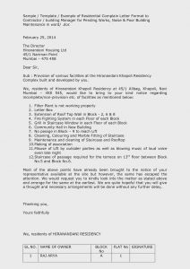 Noise Complaint Letter Template - Example Plaint Letter to Neighbour Inspirationa Neighbor Noise