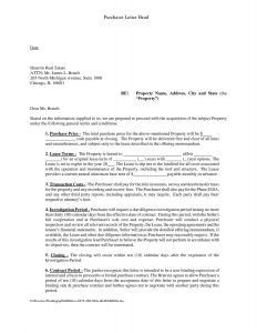 Non Binding Letter Of Intent to Lease Template - Non Binding Letter Intent Template Best Letter Intent Template