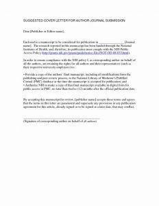 Non Compliance Letter Template - Manuscript Cover Letter New Job Proposal Template Fresh Job Fer