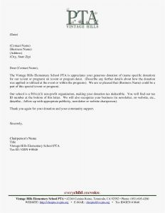 Non Profit Donation Thank You Letter Template - Donation Letter Sample Donation Letter Sample Examples In Word
