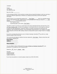 Nonrenewal Of Lease Letter Template - Not Renewing Lease Letter Sample