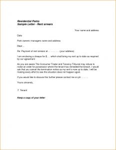 Not Renewing Lease Letter Template - Lease Renewal Letter Template Samples