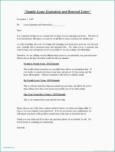 Not Renewing Lease Letter Template - Sample Early Lease Termination Letter Sample Notice Termination