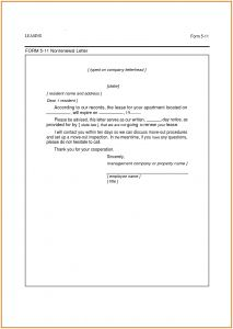 Not Renewing Lease Letter Template - Lease Extension Letter Template Examples