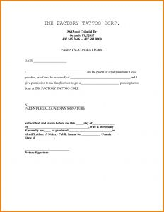 Notarized Letter Of Authorization Template - Notarized Letter for Guardianship Template Collection