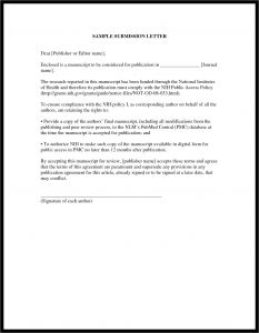 Notarized Letter Of Authorization Template - Notarized Letter Template Word Examples